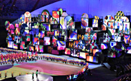 Robert Juliat Lancelot and Cyrano followspots provide key light for Rio 2016 Opening and Closing Ceremonies.