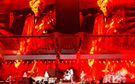 Robert Juliat Lancelot gives satisfaction to The Rolling Stones at new U Arena in Paris