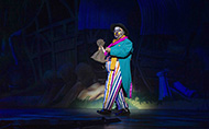 Robert Juliat Cyrano performs in Jack and the Beanstalk at Joburg Theatre