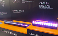 Robert Juliat Dalis Access 863 and Dalis 864 Footlight were showcased alongside RJ's new SpotMe Maestro system