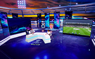 Robert Juliat Dalis fixtures provide a green solution for RTL TVI's virtual studio © Robert Juliat