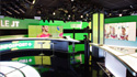 New INFOSPORT+ TV studio with Tibo LED profiles