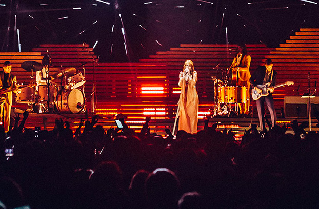 Robert Juliat Dalis Band Together for Florence and the Machine - Photo © Luke Dyson